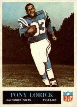 1965 Philadelphia #6 Tony Lorick RC