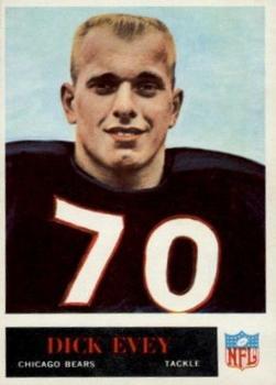 1965 Philadelphia #20 Dick Evey RC