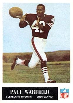 1965 Philadelphia #41 Paul Warfield RC