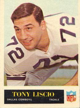1965 Philadelphia #48 Tony Liscio RC