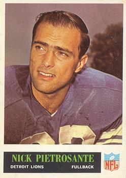 1965 Philadelphia #66 Nick Pietrosante