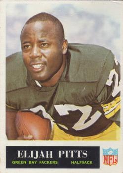 1965 Philadelphia #80 Elijah Pitts RC