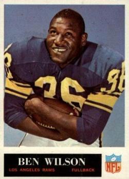 1965 Philadelphia #97 Ben Wilson RC