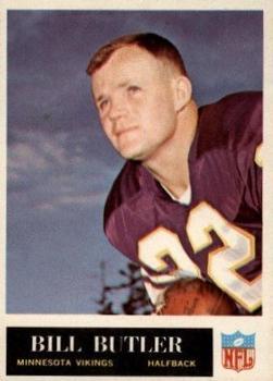 1965 Philadelphia #103 Bill Butler RC
