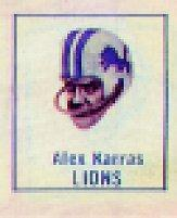 1966 American Oil All-Pro #10 Alex Karras C