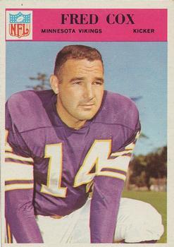 1966 Philadelphia #108 Fred Cox