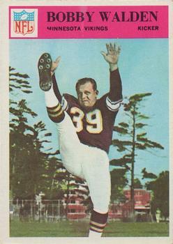 1966 Philadelphia #116 Bobby Walden RC