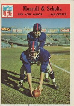 1966 Philadelphia #127 Earl Morrall/Bob Scholtz
