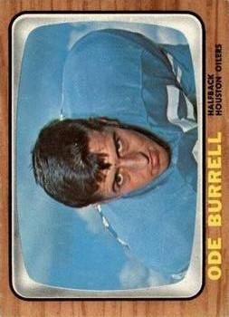 1966 Topps #51 Ode Burrell