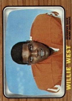 1966 Topps #86 Willie West RC