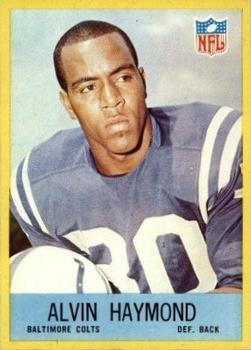 1967 Philadelphia #17 Alvin Haymond RC