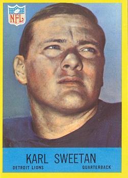 1967 Philadelphia #71 Karl Sweetan RC