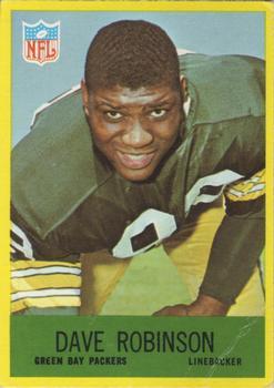 1967 Philadelphia #80 Dave Robinson RC