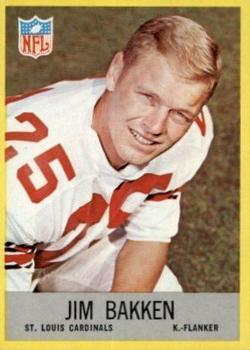 1967 Philadelphia #158 Jim Bakken