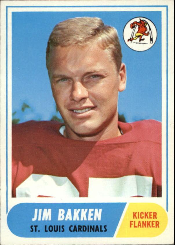 1968 Topps #8 Jim Bakken