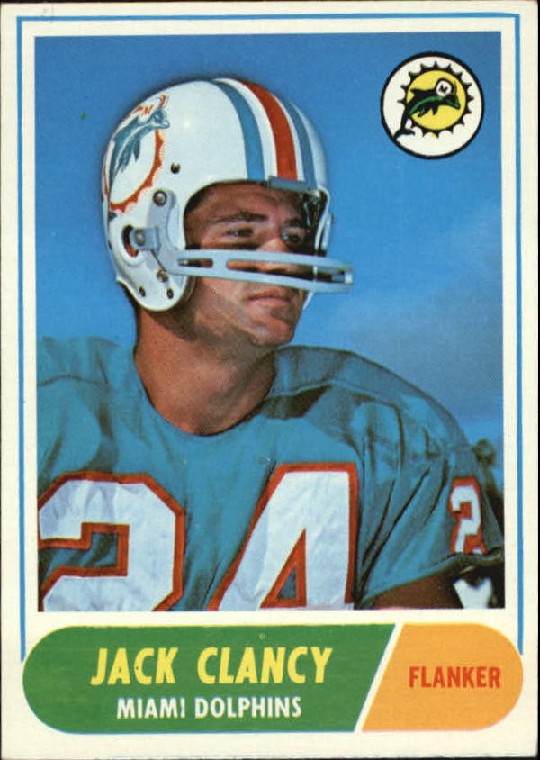 1968 Topps #14 Jack Clancy RC