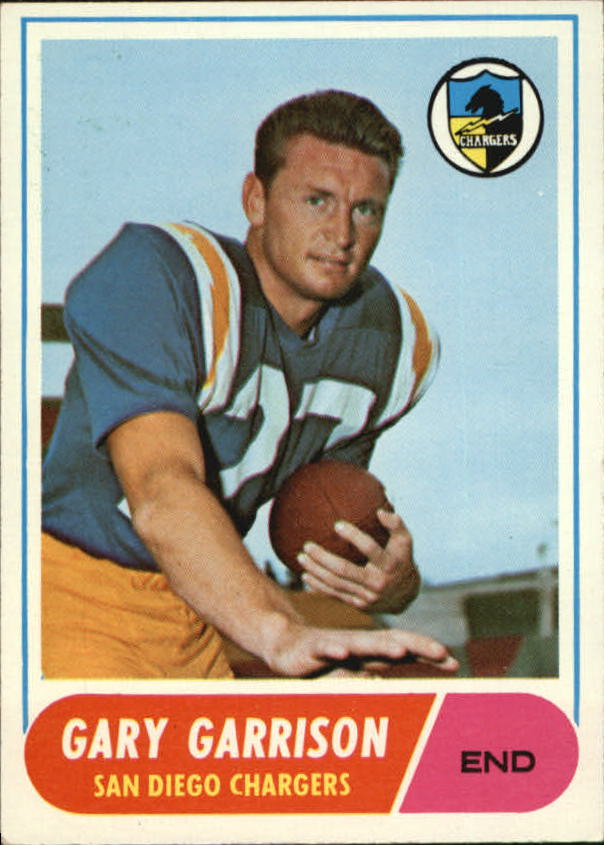 1968 Topps #36 Gary Garrison RC