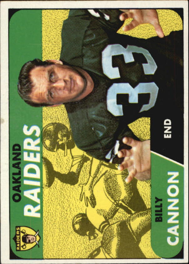 1968 Topps #37 Billy Cannon