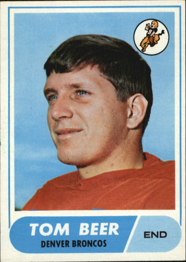 1968 Topps #42 Tom Beer RC