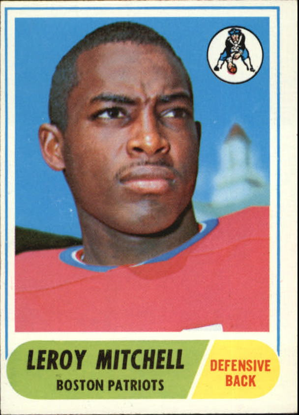1968 Topps #45 Leroy Mitchell UER RC