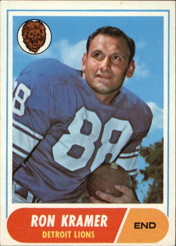 1968 Topps #51 Ron Kramer