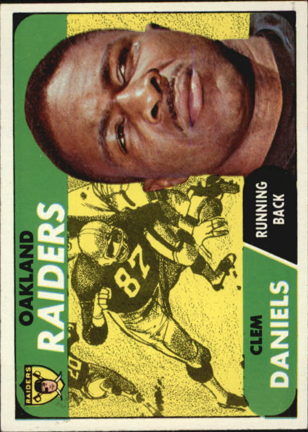 1968 Topps #90 Clem Daniels
