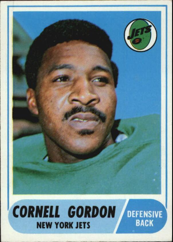 1968 Topps #91 Cornell Gordon RC