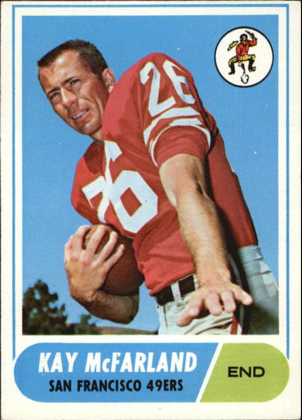1968 Topps #113 Kay McFarland RC