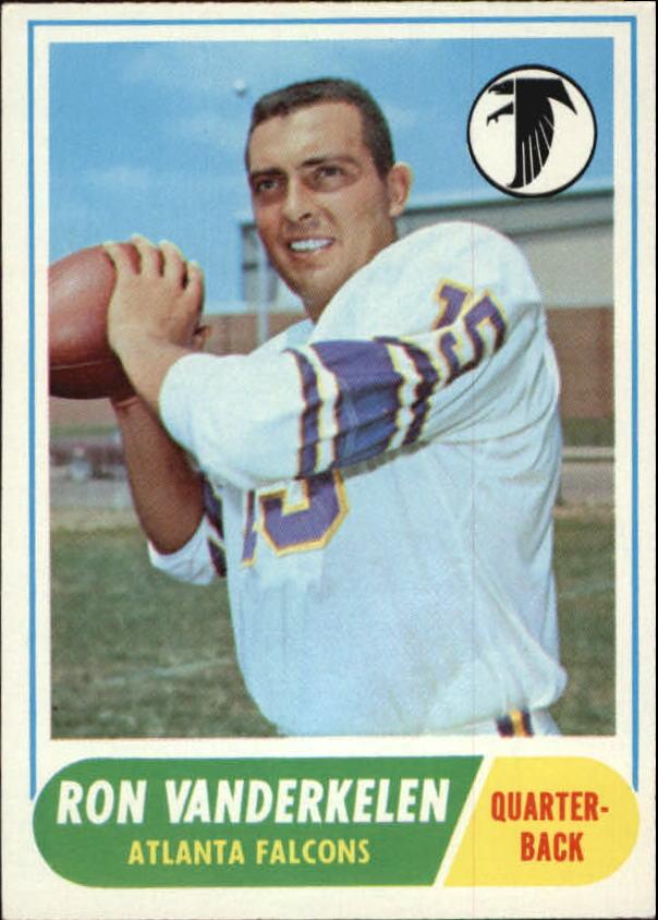 1968 Topps #125 Ron Vanderkelen RC