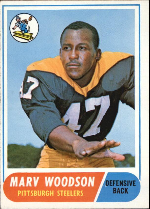 1968 Topps #137 Marv Woodson RC