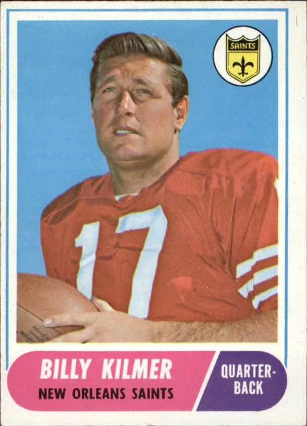 1968 Topps #186 Billy Kilmer