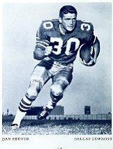 1969 Cowboys Team Issue 5x6 #18A Dan Reeves