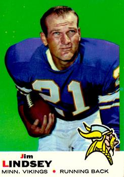 1969 Topps #13 Jim Lindsey RC
