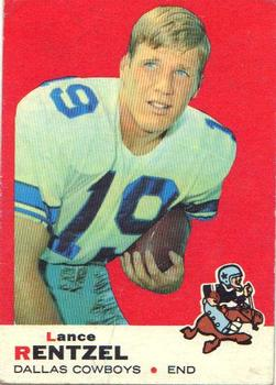 1969 Topps #31 Lance Rentzel RC