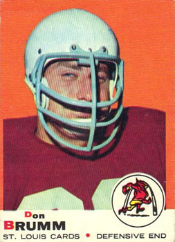 1969 Topps #87 Don Brumm RC
