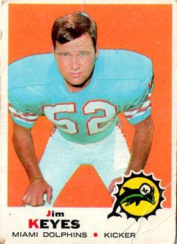 1969 Topps #253 Jim Keyes RC