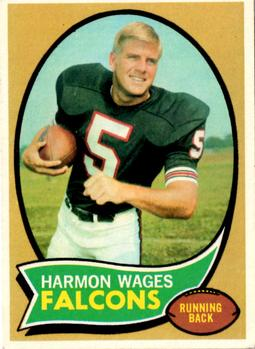 1970 Topps #5 Harmon Wages RC