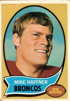 1970 Topps #14 Mike Haffner RC
