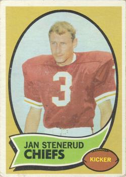 1970 Topps #25 Jan Stenerud RC
