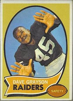 1970 Topps #31 Dave Grayson