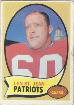 1970 Topps #33 Len St. Jean RC