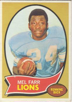 1970 Topps #52 Mel Farr RC