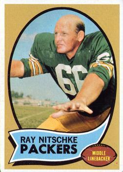 1970 Topps #55 Ray Nitschke