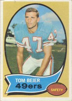 1970 Topps #64 Tom Beier RC