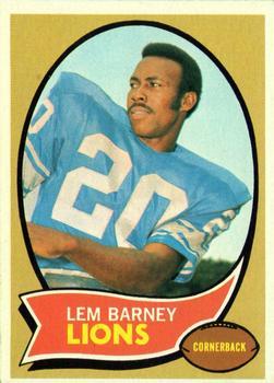 1970 Topps #75 Lem Barney RC