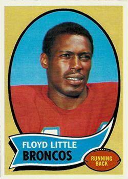 1970 Topps #170 Floyd Little