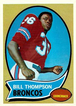 1970 Topps #231 Bill Thompson RC