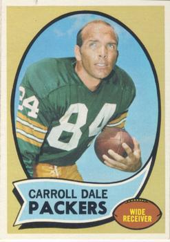 1970 Topps #232 Carroll Dale