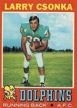 1971 Topps #45 Larry Csonka