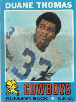 1971 Topps #65 Duane Thomas RC